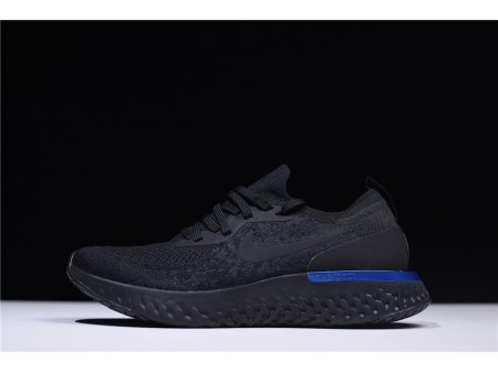 Nike Epic React Flyknit Black Racer Blue AQ0067-004 for Men-20