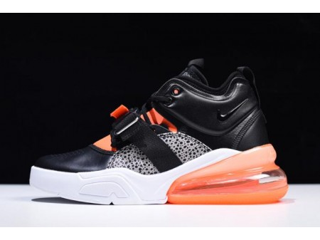 Nike Air Force 270 'Safari' Black/Hyper Crimson-Wolf Grey-White AH6772-004 Men