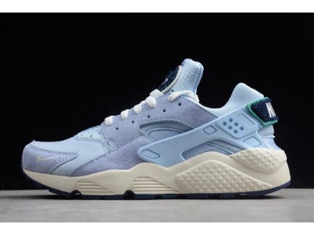 Nike Air Huarache Run Premium Royal Tint/Sail-Blue Void-Neptune Green 704830-403 Men Women-20