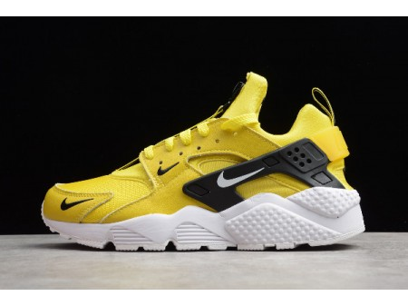 Nike Air Huarache Zip Bright Citron/White-Black BQ6164-700 Men Women