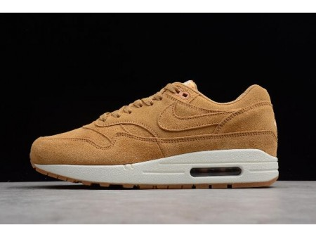 Nike Air Max 1 Premium Wheat Flax/Flax-Sail-Gum Medium Brown 875844-203 Men Women-20