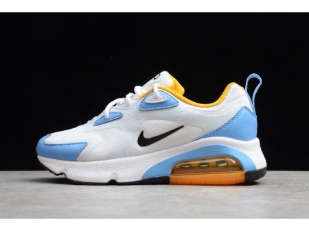 Nike Wmns Air Max 200 White/Black/Half Blue/University Blue AT6175-101 Women