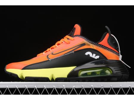 Nike Air Max 2090 Black/Orange-Volt CQ7630-004 Men-20
