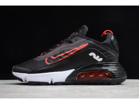 Nike Air Max 2090 Black/Red-White CT7698-005 Men Women-20