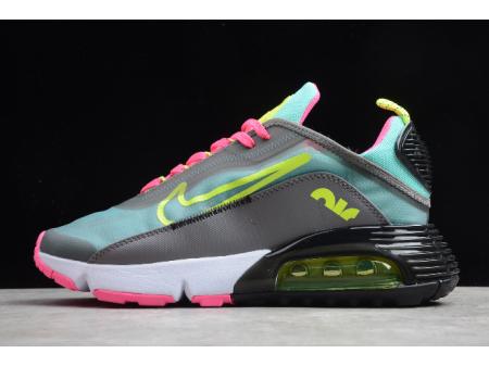 Nike Air Max 2090 Dark Grey/Magenta-Pink Green-Lemon CT7698-007 Men Women-20