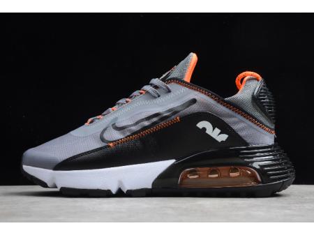 Nike Air Max 2090 Silver Grey/Black-Orange CT7698-012 Men Women-20