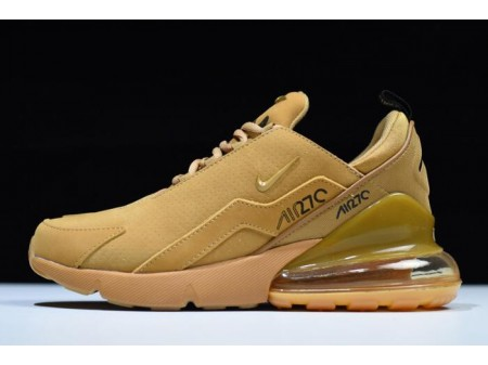 Nike Air Max 270 Flyknit Wheat AH8060-003 Men Women-20