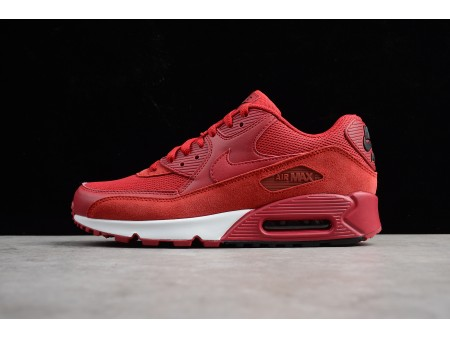 Nike Air Max 90 Essential Gym Red/Black-White 537384-604 Shoes Men-20
