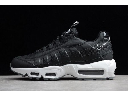 Nike Air Max 95 SE Black/White/Cool Grey/Black AQ4129-002 Men-20