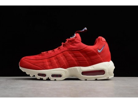 Nike Air Max 95 TT Gym Red/Sail-Gym Blue AJ1844-600 Men Women-20