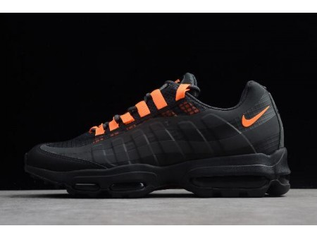 Nike Air Max 95 Ultra SE Black/Total Orange AO9566-001 Men-20