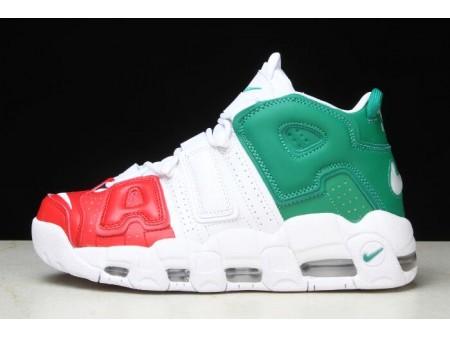 Nike Air More Uptempo '96 Italy QS University Red/Lucid Green-White AV3811-600 Men