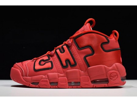 Nike Air More Uptempo Chi QS Chicago University Red/Black AJ3138-600 Men-20