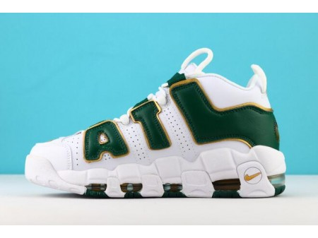 Nike Air More Uptempo ATL QS White/Gorge Green/Metallic Gold AJ3139-100 Men Women-20