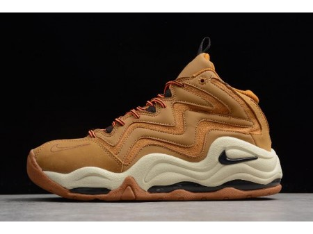 Nike Air Pippen 1 Wheat Desert Ochre/Velvet Brown-Fossil-Total Orange 325001-700 Men-20