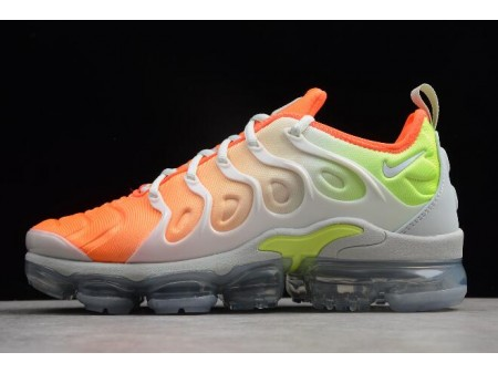 Nike Air VaporMax Plus Reverse Sunset Barely Grey/Total Crimson-Volt-White AO4550-003 Men Women-20