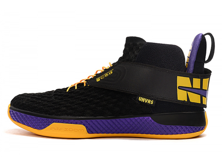 Nike Air Zoom UNVRS Lakers Black/Amarillo-Court Purple Men-20