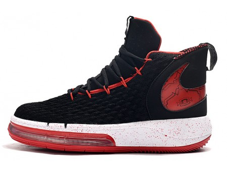 Nike AlphaDunk 'Bred' Black/Varsity Red-White Men