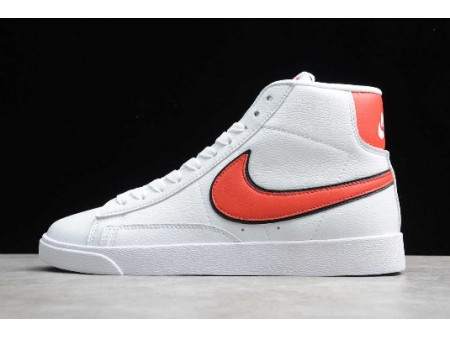 Nike Blazer Mid QS High Sail/Habanero Red CJ6101-105 Men Women