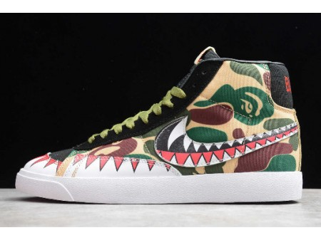 Nike Blazer Mid Vintage Slan Jam Crocodile CD9545-001 Men Women
