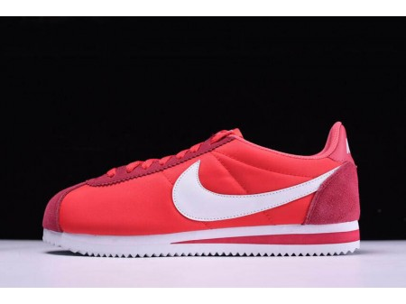 Nike Classic Cortez Nylon Gym Red/White 488291-603 Men Women-20
