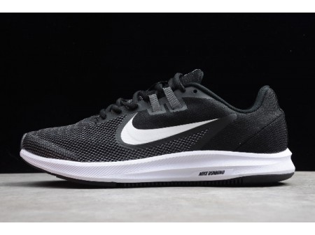 Nike Downshifter 9 Black/White Running Shoes AQ7486-700 Men Women-20