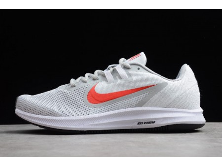Nike Downshifter 9 White/Red-Grey Running Shoes AQ7486-101 Men Women-20