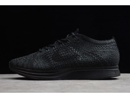 Nike Flyknit Racer Triple Black Black/Black-Anthracite 526628-009 Men Women-20