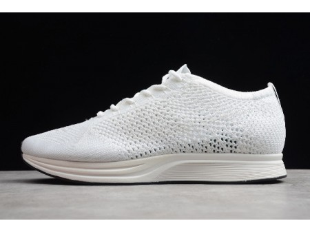 Nike Flyknit Racer White-Sail-Pure Platinum 526628-100 Men Women-20