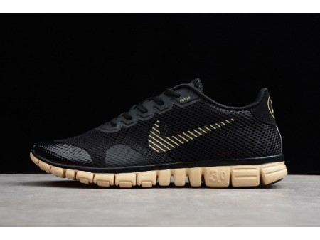 Nike Free 3.0 V2 Black/Rice-Yellow 806568-008 Men-20