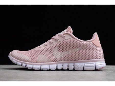 Wmns Nike Free Rn 3.0 V2 Light Pink/White 806568-009 Women-20