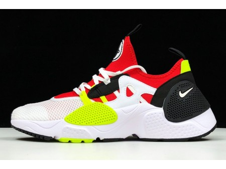 Nike Huarache E.D.G.E. TXT White/University Red-Volt AO1697-100 Men-20