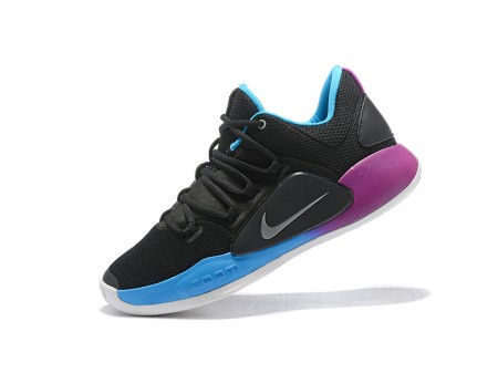 Nike Hyperdunk X Low EP 2018 Black/Purple-Blue Basketball Shoes Men-20