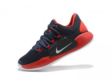 Nike Hyperdunk X Low EP 2018 Midnight Navy/Red-White Men-20