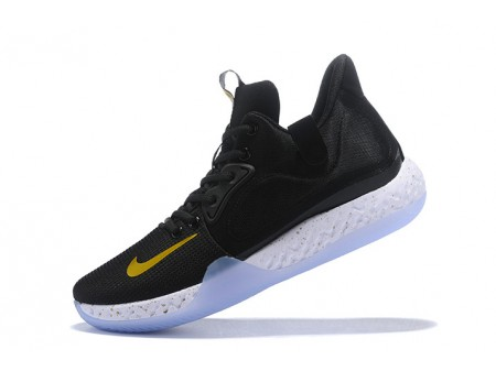 Nike KD Trey 6 Black/Metallic Gold-White Men