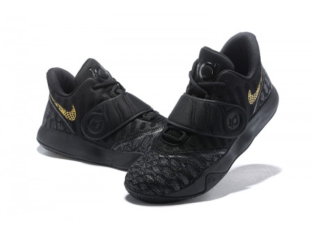 Nike KD Trey 5 VI Black Gold Basketball Shoes Men-20
