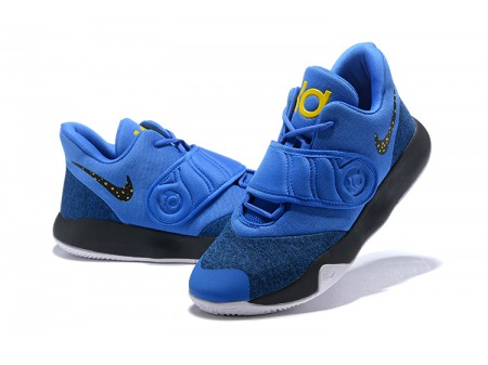 Nike KD Trey 5 VI Royal Blue/Black/Metallic Gold/White AA7067-401 Men-20