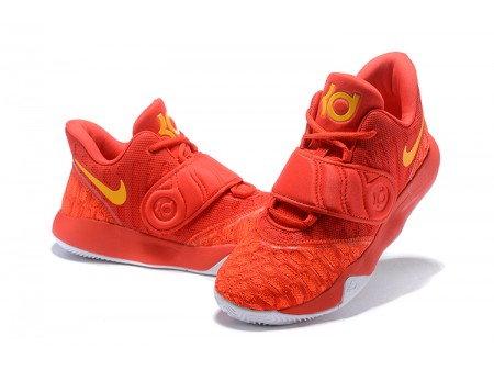 Nike KD Trey 5 VI University Red/Yellow Basketball Shoes Men-20