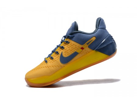 Nike Kobe A.D. Bruce Lee Yellow/Navy Blue Shoes Men-20