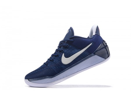 Nike Kobe A.D. Midnight Navy/Pure Platinum-White Basketball Shoes 852425-406 Men