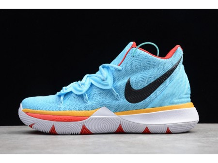 Nike Kyrie 5 EP Sky Blue/Orange Red AO2919-403 Men