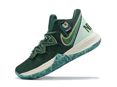 Nike Kyrie 5 Green/Sail-Blue Men-20