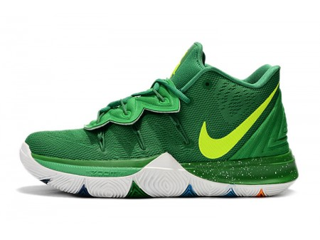 Nike Kyrie 5 Green/Volt-White Men-20