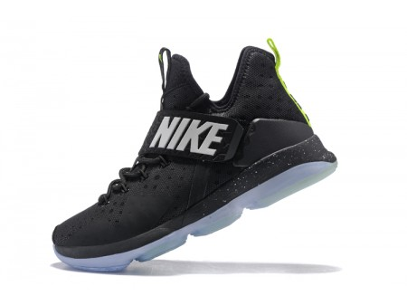 Nike LeBron 14 Black/Fluorescent Green-White Men-20