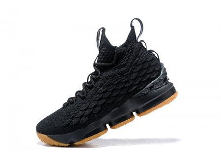 Nike LeBron 15 Black Gum 897648-300 Basketball Shoes Men-20