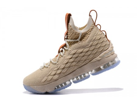 Nike LeBron 15 Ghost String/Vachetta Tan-Sail Basketball Shoes 897648-200 Men-20