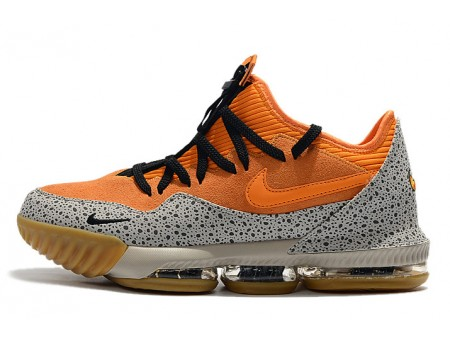 Nike LeBron 16 Low 'Safari' Kumquat/Black CI3358-800 Men