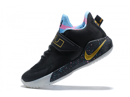 Nike LeBron Ambassador 12 Black/Multi-Colour Men-20
