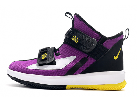 Nike LeBron Soldier 13 XIII Voltage Purple/Dynamic Yellow-Black AR4225-500 Men-20