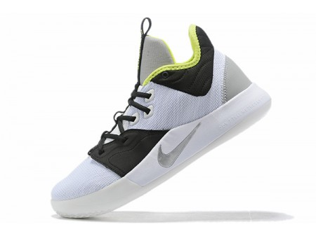 Nike PG 3 Los Angeles Lakers White/Black-Green Men-20